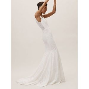 BHLDN Lace Be A Lady Gown